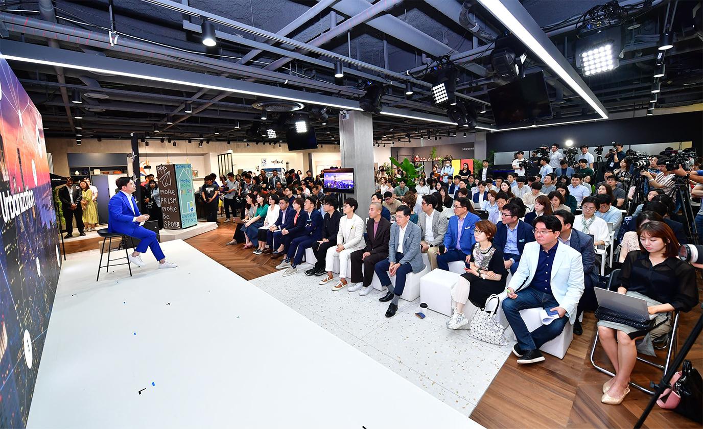 삼성전자 BESPOKE 론칭 PR 캠페인